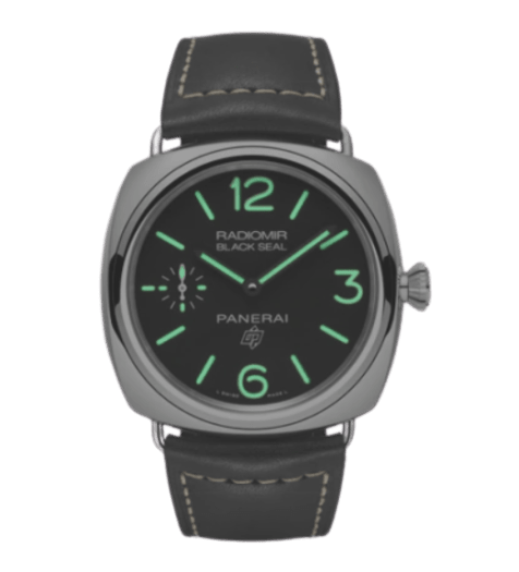 Panerai Radiomir Black Seal logo 45mm (Superluminova Lume)